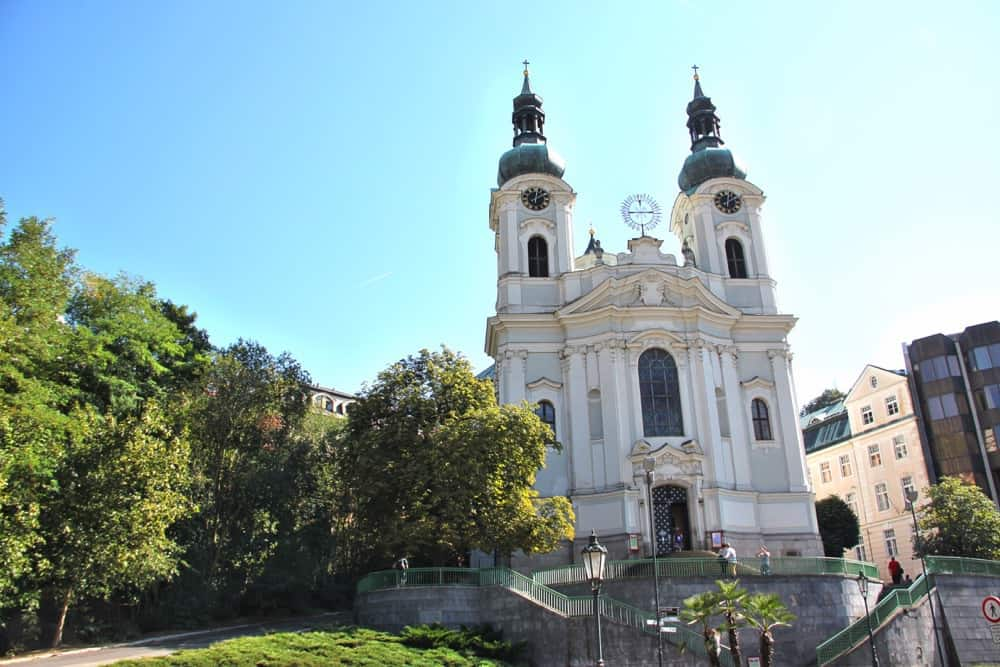 Church of St. Mary Magdalene Karlovy Vary