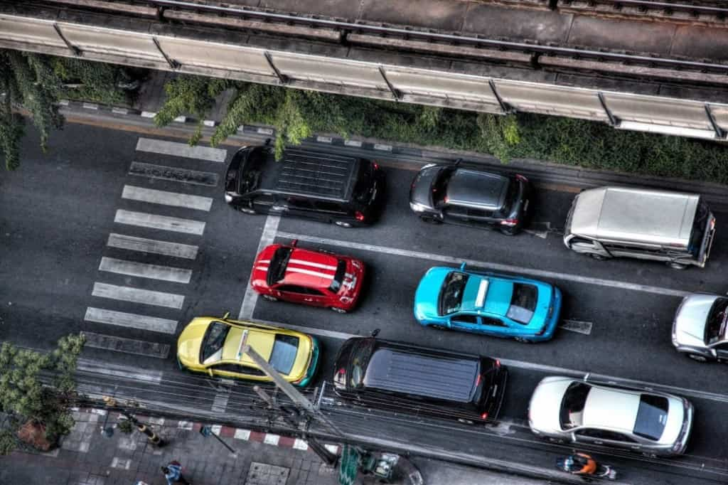 Cars from the above