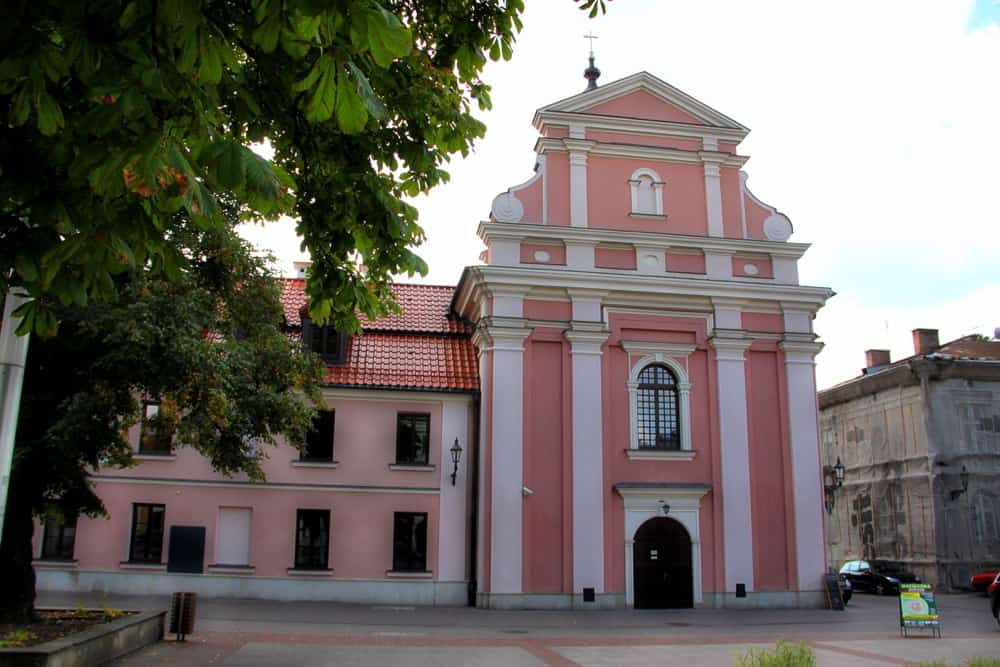 The church of the Poor Clares in Zamosc