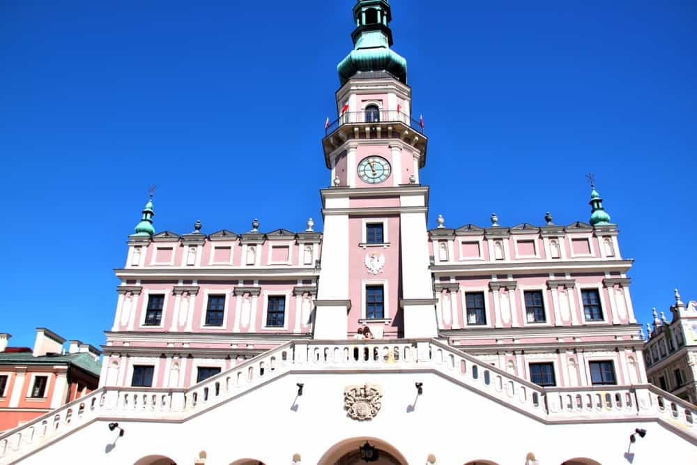 Town Hall in Zamosc