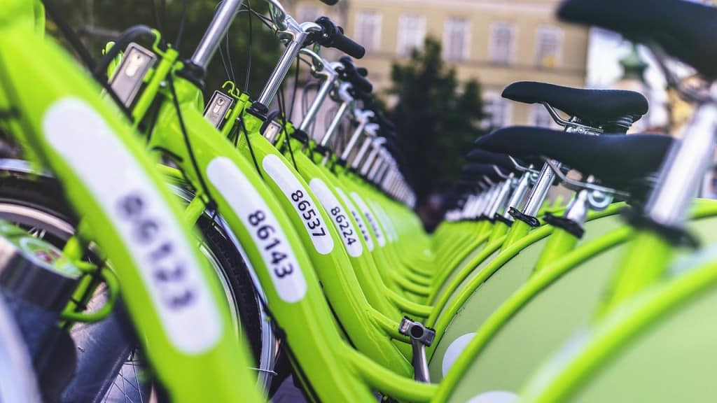 bikes green public