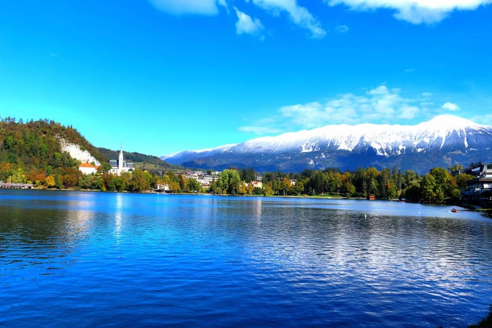 Lake Bled Slovenia - Julian Alps Slovenia