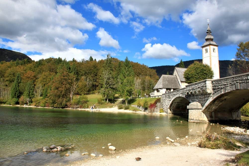 Bohinj is the biggest lake in Slovenia.