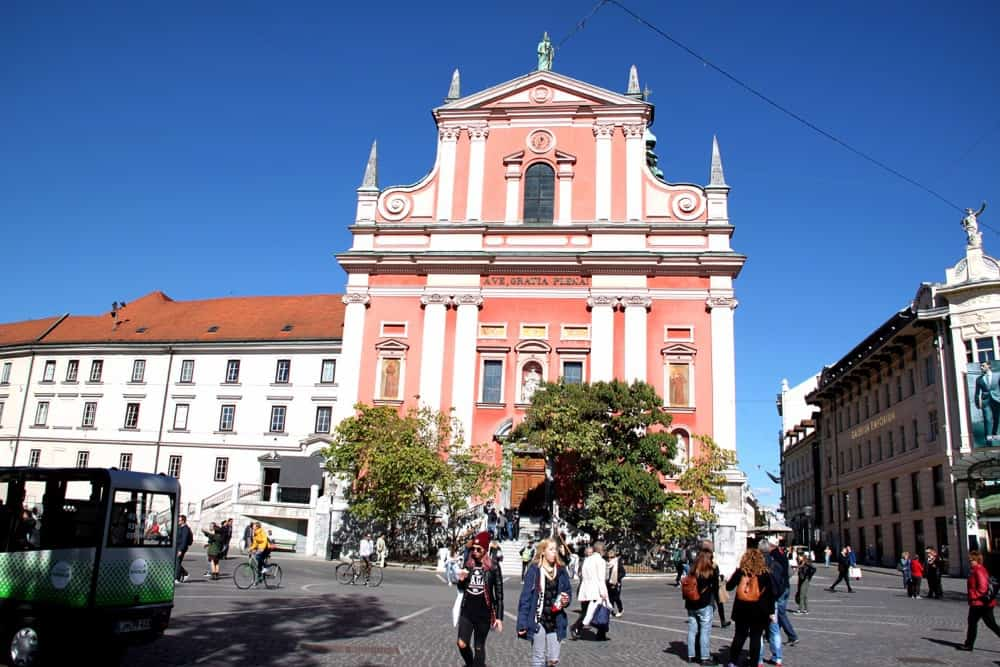 franciscan-church-of-annunciation-ljubljana