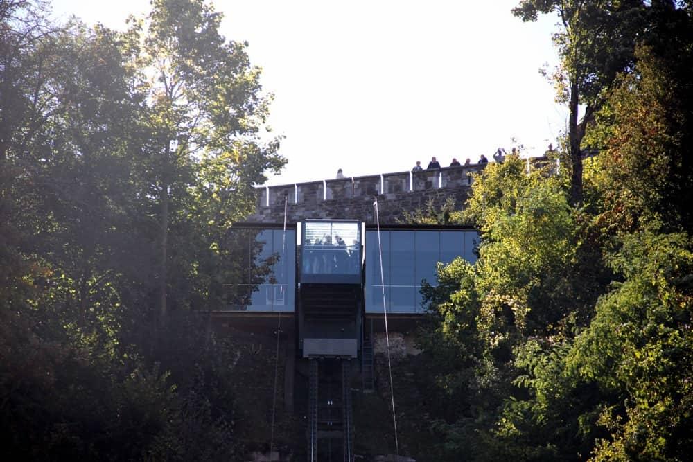Funicular railway ljubljana-castle