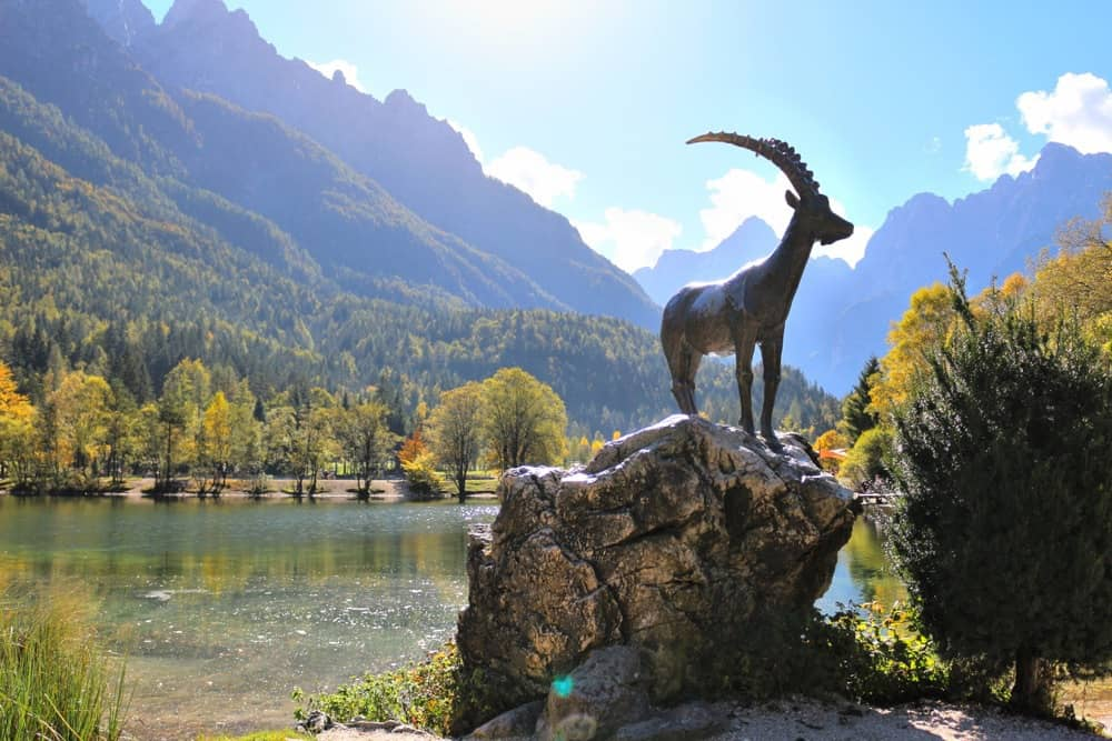 goat-lake-jasna Julian Alps Slovenia