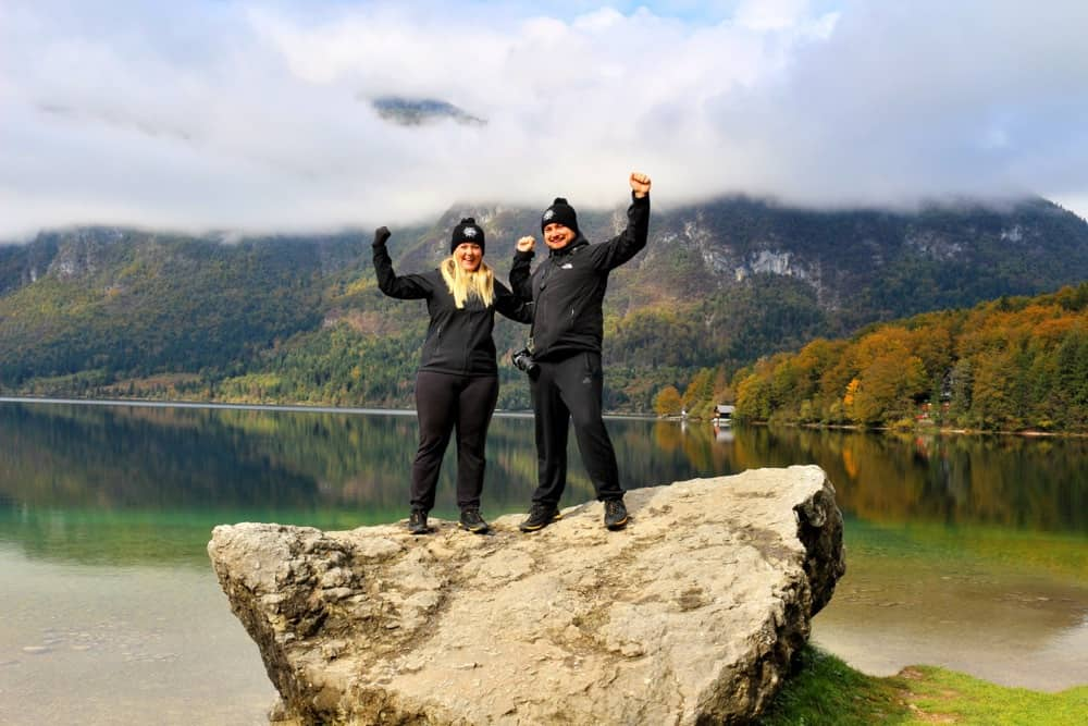happy-bohinj-lake