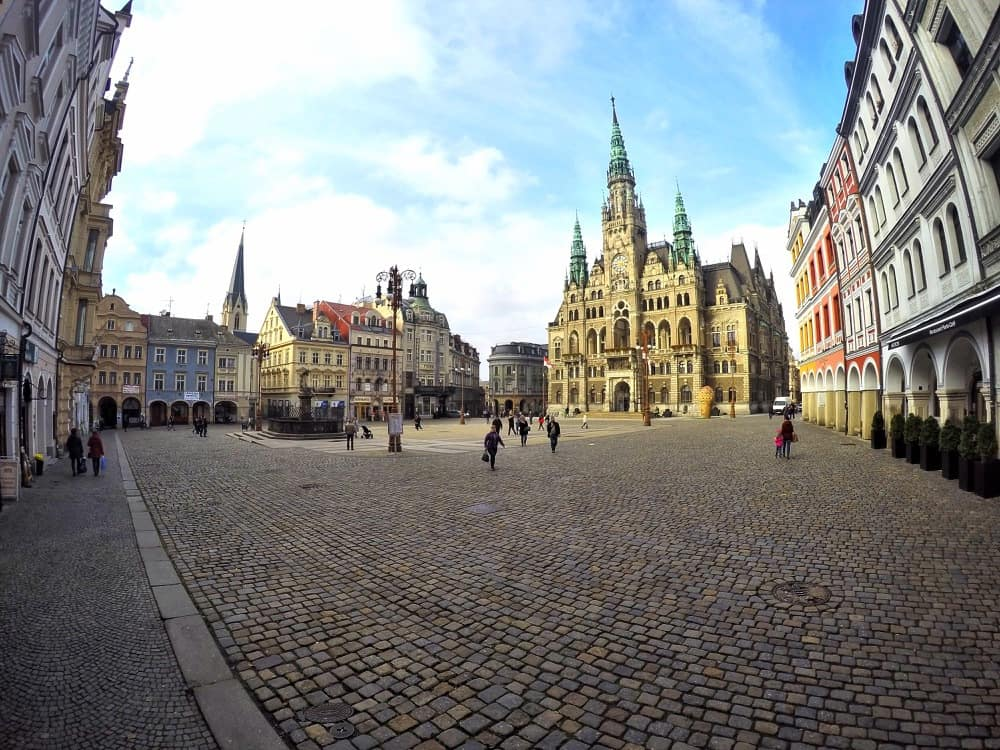 Old town in Liberec