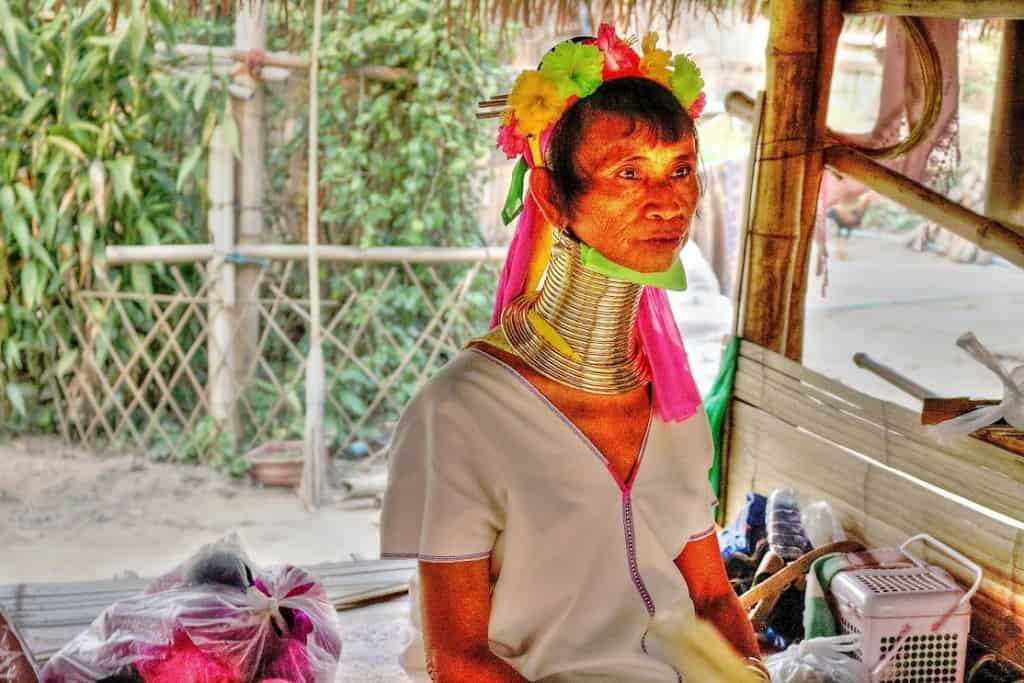 Long Neck tribe in Chaing Rai