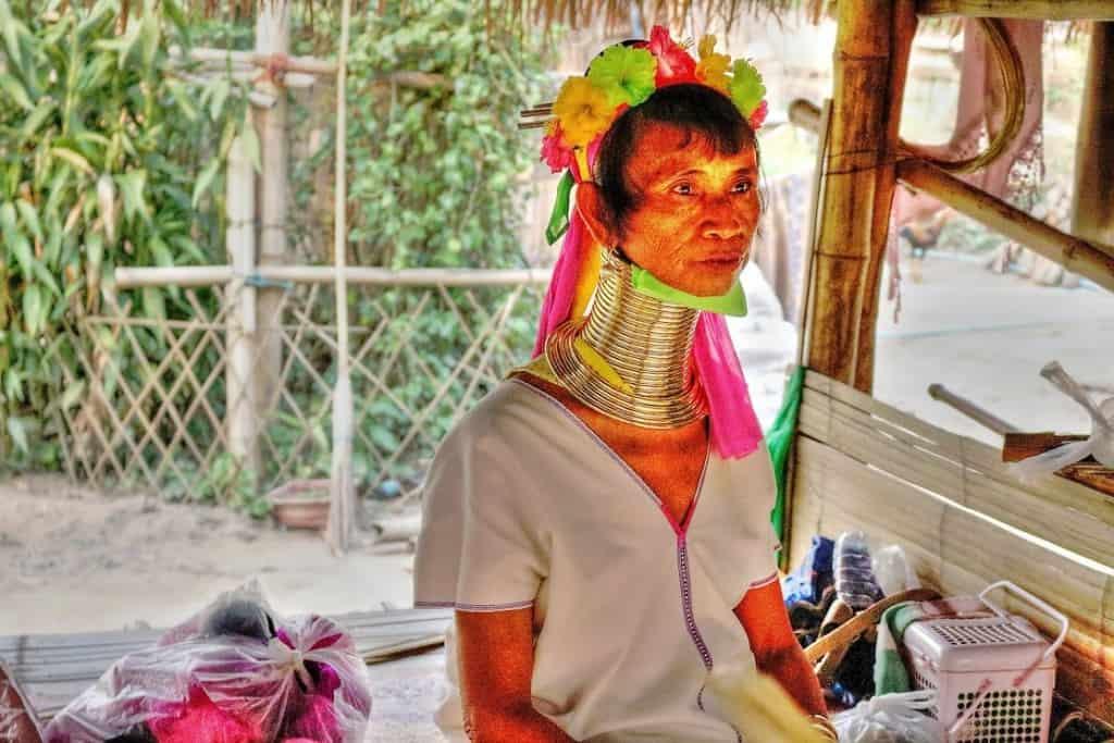 Long Neck tribe in Chaing Rai