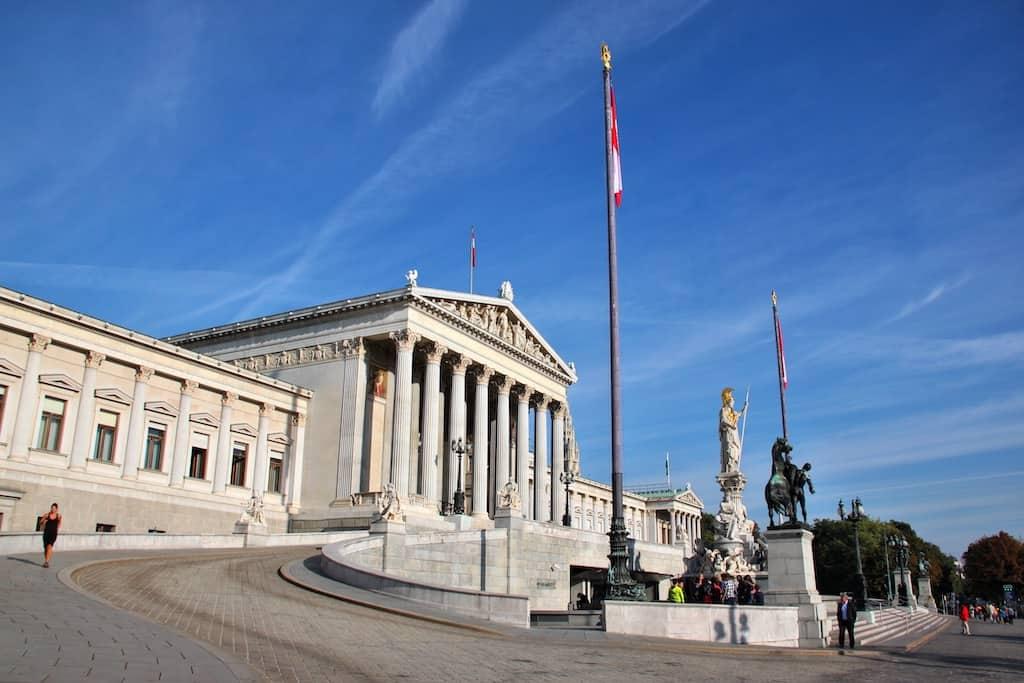 Vienna Parliment