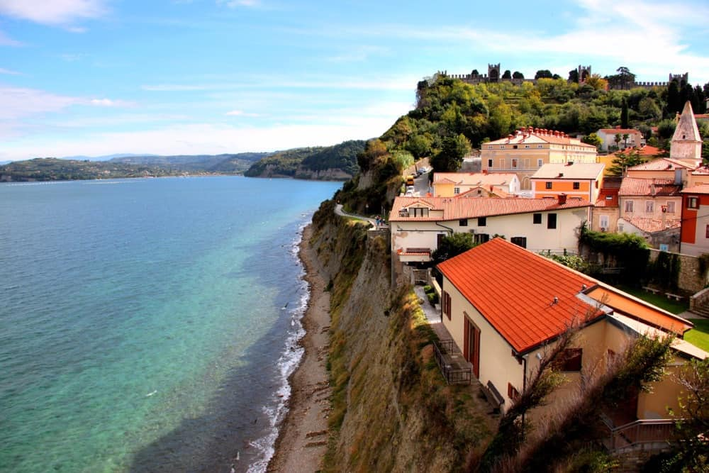 If you are looking for the best beaches in Slovenia, head to Piran.