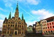 Beautiful town hall Liberec