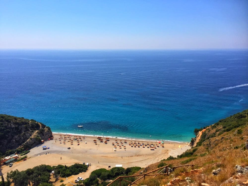 Albanian riviera eastern europe travel blog
