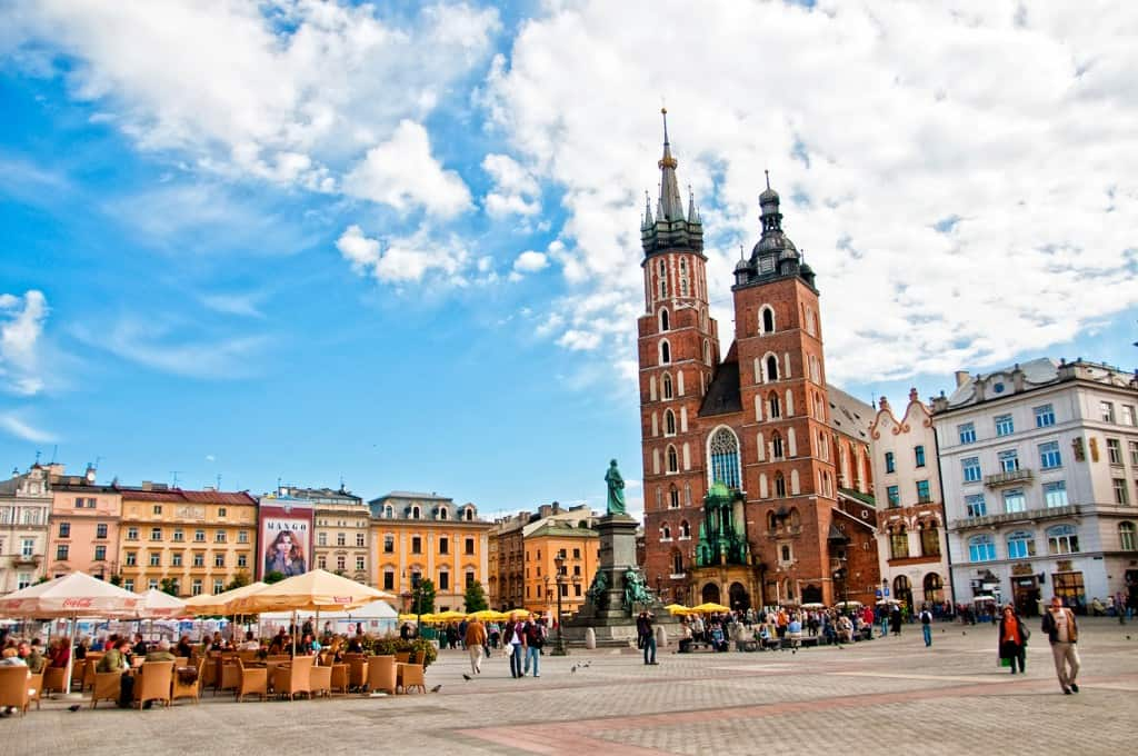 krakow old town prettiest cities in europe