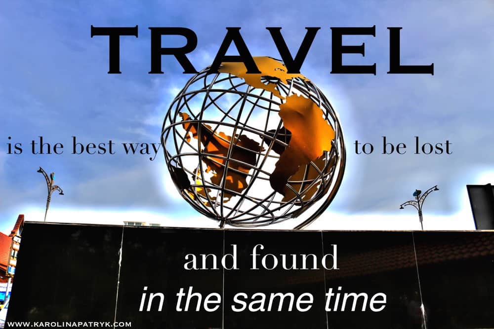 travel-is-the-best-way-to-be-lost-and-found Travel quotes