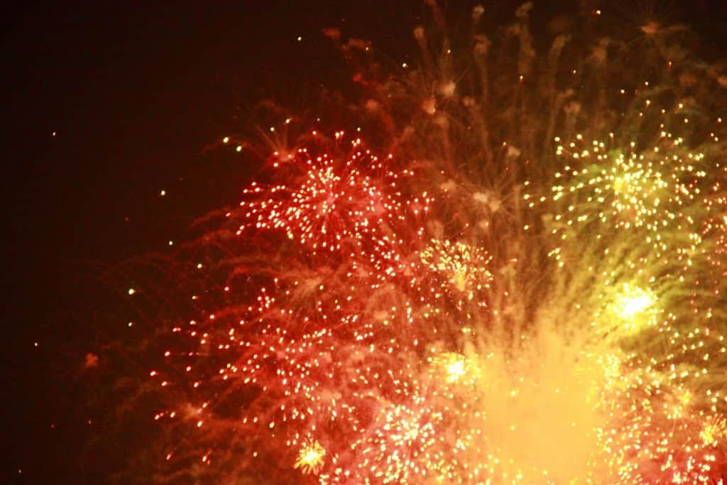 Polish fireworks