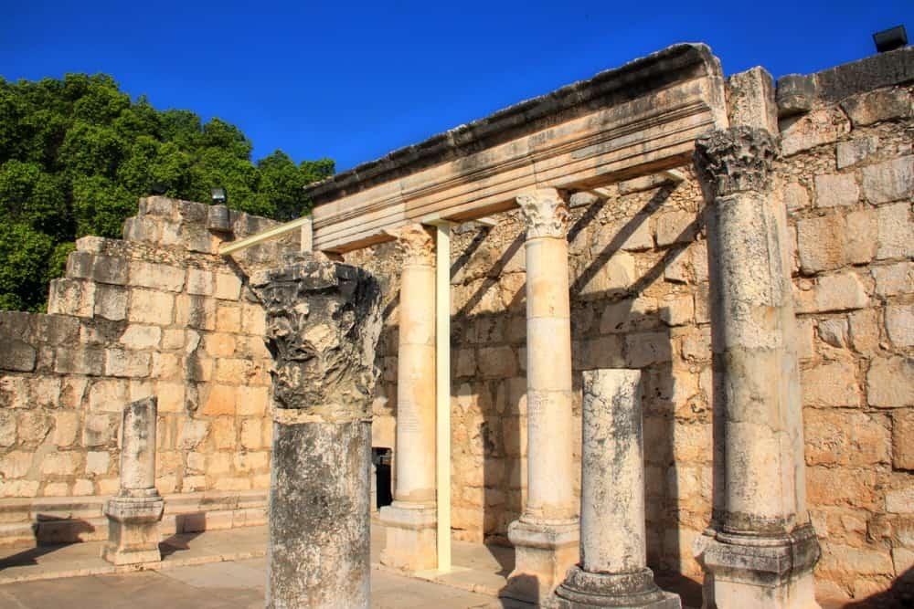Capernaum Israel ruins