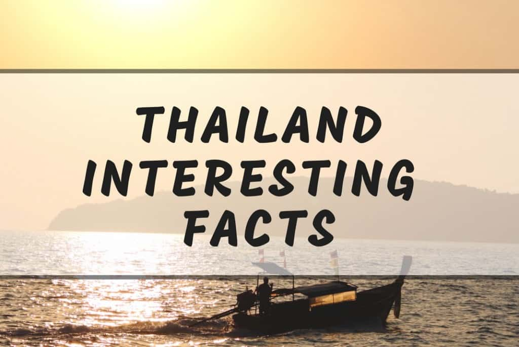 Thailand Facts Eye Opening About Culture