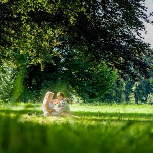 Richmond Park is one of the most romantic places in London.