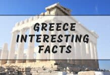 Interesting Greece facts