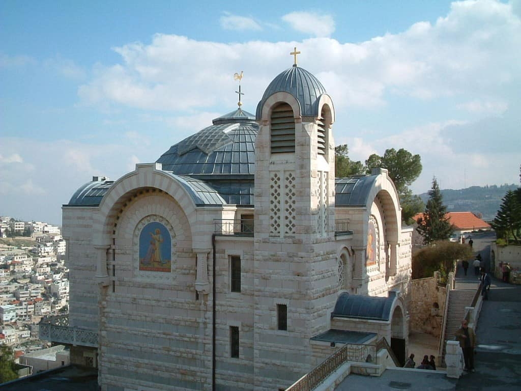 Church of Saint Peter in Gallicantu Jerusalem mount Zion