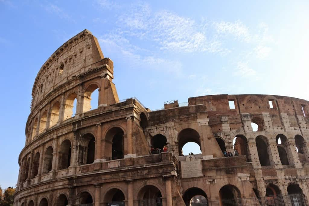 Rome the Colosseum facts: the spectacles