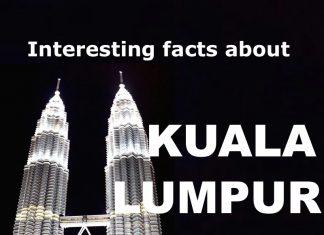 Kuala Lumpur interesting facts