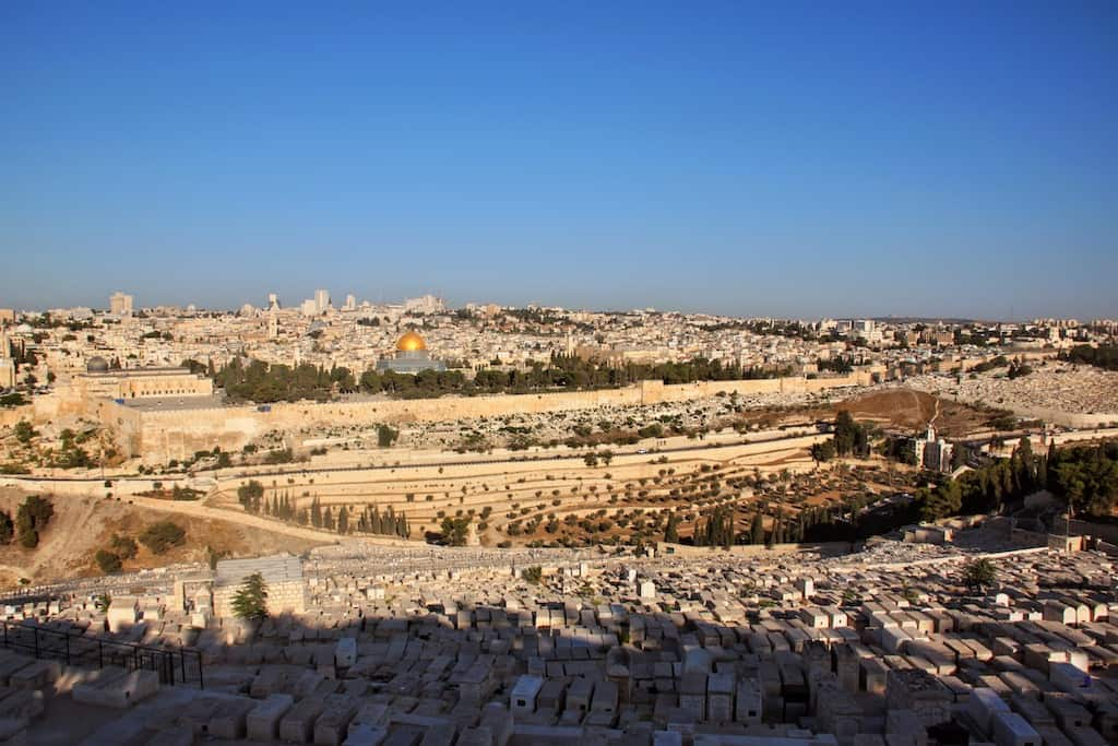 Mount of Olives Jerusalem