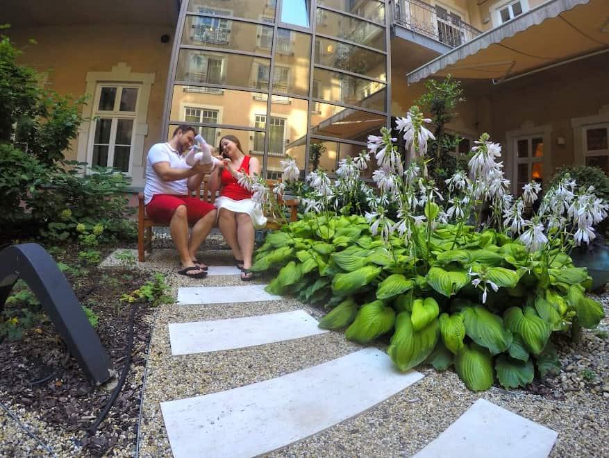 Romantik hotel Budapest