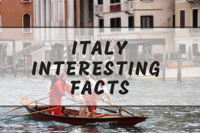 interesting facts in italy
