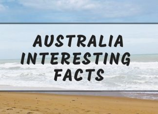 Intersting Australia facts