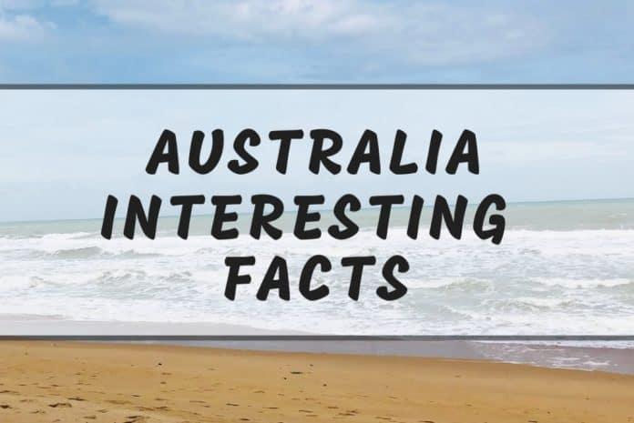 Intersting Australia facts