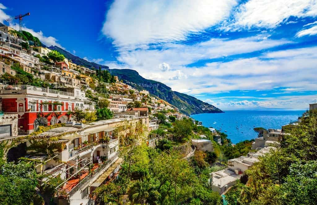 A beautiful Amalfi coast honeymoon