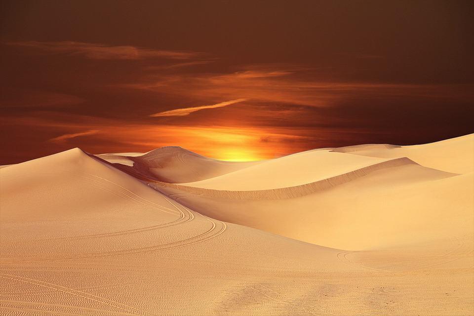 Summer in Kuwait is hot!
