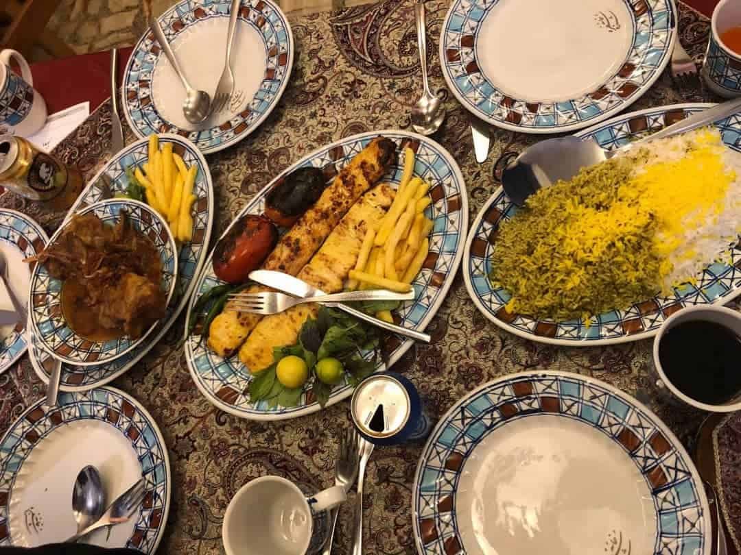 Iranian food delicious