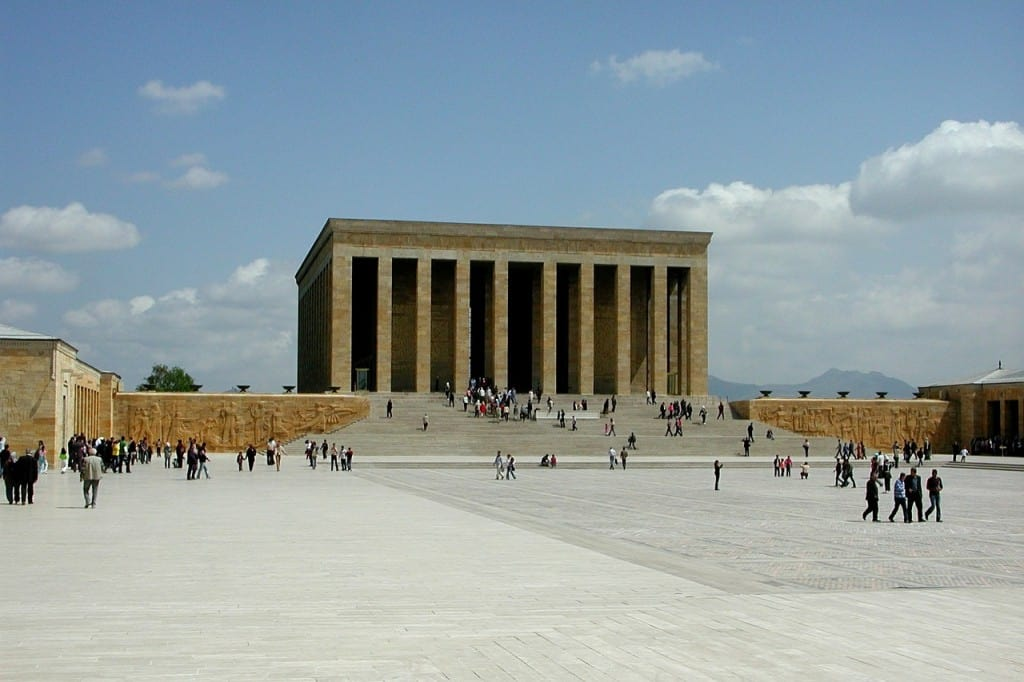 Ataturk Mausoleum in Ankara Turkey