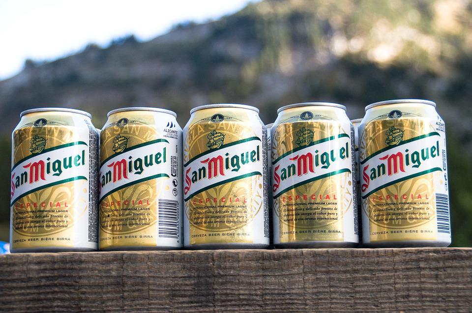 San Miguel Beer is not spanish!