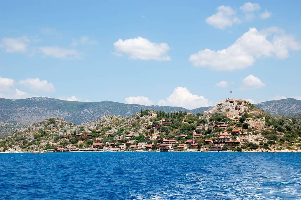 Turkish coast in summer