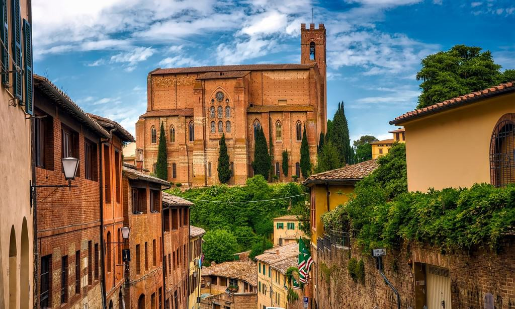 Siena is one of the most beautiful cities in Tuscany.