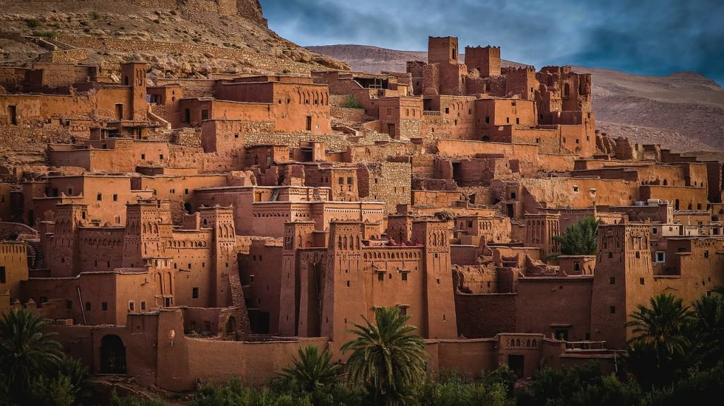 Facts about Morocco: several films have been shot at the Kasbah Ait Ben Haddou