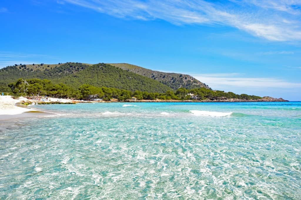 Consider the weather when planning a trip to Spain - it won't always be this clear!