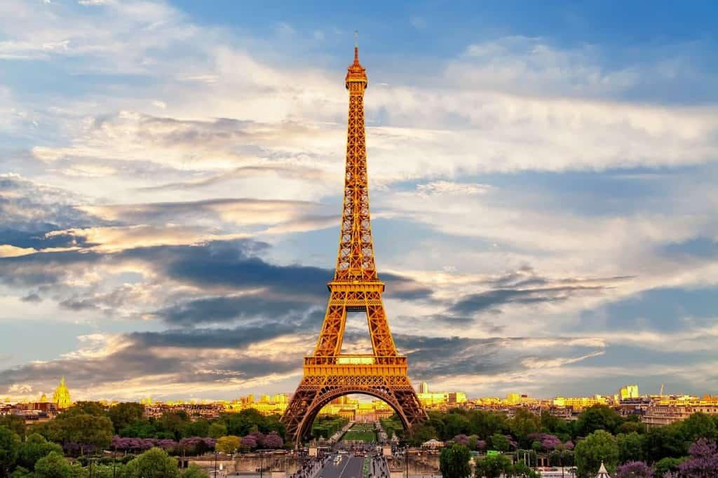 Famous places in Paris