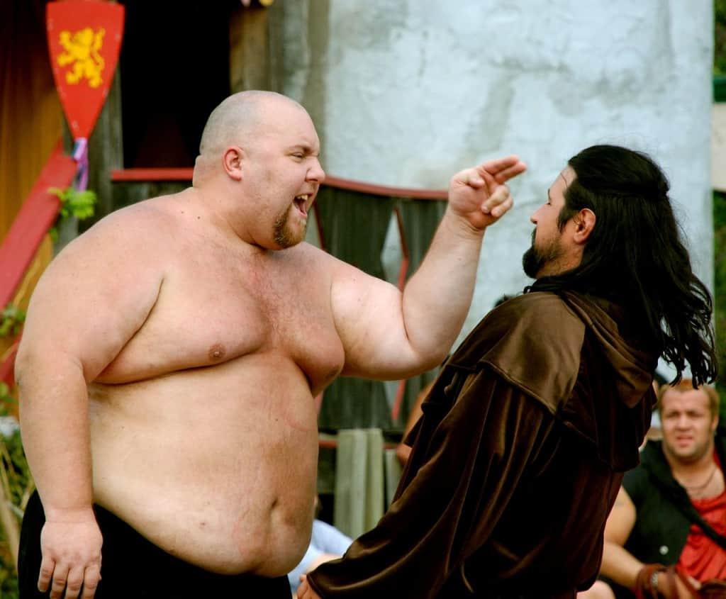 fat man dating