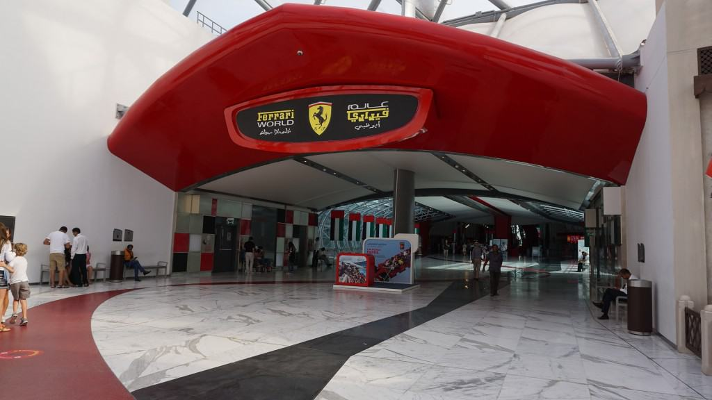 Things to do in Abu Dhabi today: Ferrari World