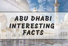 Intersting Abu Dhabi facts