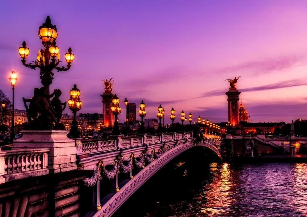 Things to do in Paris romantic