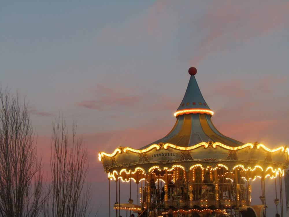 tibidabo carrousel barcelona