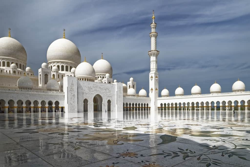 Famous places in Abu Dhabi