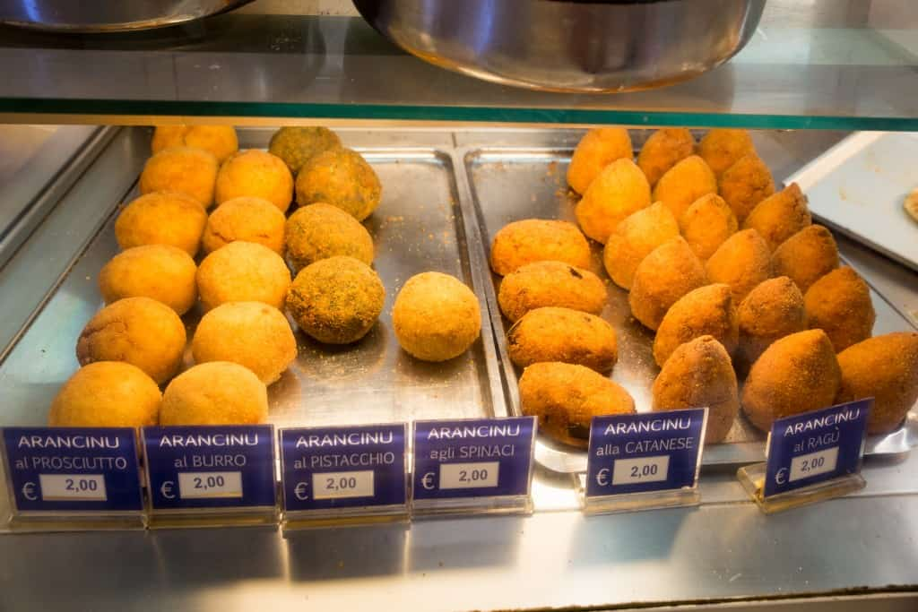 Arancino is a must try in Sicily!